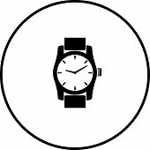 wrist watch symbol