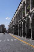 Plaza de Armas in Arequipa, Peru.