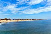 pic of outer  - beautiful beach at the outer banks in america - JPG