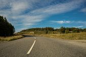 picture of outer  - Road disappearing into the distance - JPG