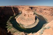 picture of horseshoe  - Horseshoe Bend is a horseshoe - JPG