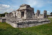Ancient Mayan Building