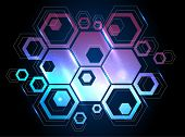 picture of honeycomb  - vector background with honeycomb - JPG
