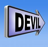 image of satan  - devil evil satan burn in hell 