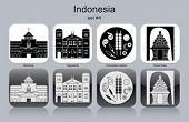 stock photo of gunung  - Landmarks of Indonesia - JPG