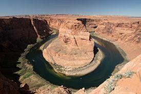 picture of horseshoe  - Horseshoe Bend is a horseshoe - JPG