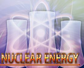 stock photo of reactor  - Abstract background digital collage concept illustration nuclear energy reactor - JPG
