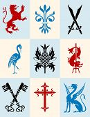 Heraldic Icon Set.eps