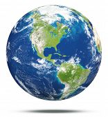 stock photo of earth  - model of Earth - JPG