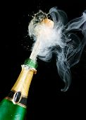 stock photo of champagne glass  - Champagne - JPG