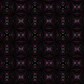 Purple pattern on black