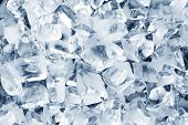pic of ice-cubes  - Background in the form of ice cubes - JPG