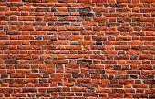 steen rood muur patroon natuurlijke oppervlak