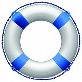 salvavidas azul