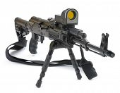 mashine gun ak - 47 - kalashnikov