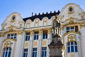 Roland Fountain in Bratislava Square