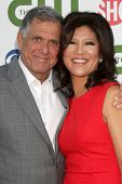LOS ANGELES - AUG 3:  Les Moonves, Julie Chen arriving at the CBS TCA Summer 2011 All Star Party at