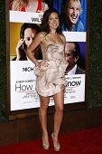 LOS ANGELES, CA - DEC 13: Vail Bloom at the world premiere of 'How Do You Know' held at the Regency