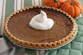Pumpkin Pie - Home Baked