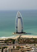 Burj Al Arab On Jumeirah Beach Road