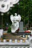 Angel Cemetery Monument poster