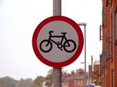 Cycling Not Permitted
