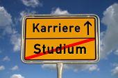 German Road Sign Study And Career