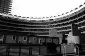 Curved Building In The Barbican