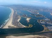 Aerial View Of San Diego, Ca