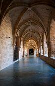 Inner cloister at the