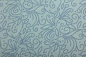 light blue handmade art paper with dotten pattern