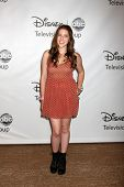LOS ANGELES - AUG 7:  Eden Sher arriving at the Disney / ABC Television Group 2011 Summer Press Tour
