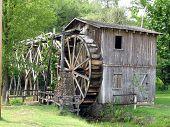 Old Water Wheel