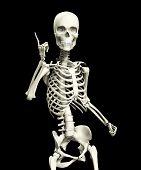 Esqueleto quizzical