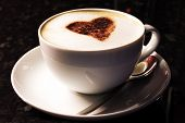 foto of latte coffee  - coffee cup - JPG