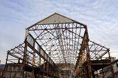 Uncovered Hangar Frame