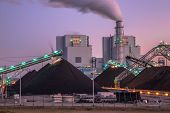 Coal Used To Play A Vital Role In Electricity Generation Worldwide. Altough Modern Plants Are Much M poster