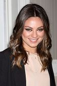 LAS VEGAS - APR 24:  Mila Kunis arrives at the Disney Studios Photo Op at CinemaCom 2012 at Caesars