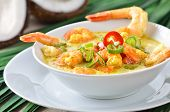 Shrimps soup
