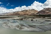 Landscape of Nubra Valley. Nubra valley, Ladakh, India poster