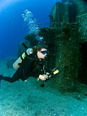 Female Underwater Photographer