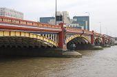 Vauxhall Bridge. London. England