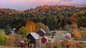 Scenic landscape near Corinth Vermont poster