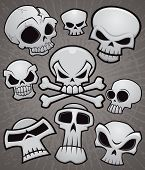 Cartoon Skull Collection