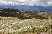 View From The Top Of Mount Kosciuszko. Australia.