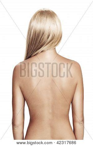 Голые фото вид со спины