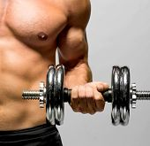 stock photo of pectorals  - Fitness  - JPG