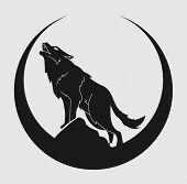 símbolo de lobo