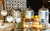 image of banquette  - Fruit juice on buffet table - JPG