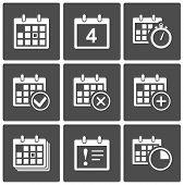 Kalender Icons set